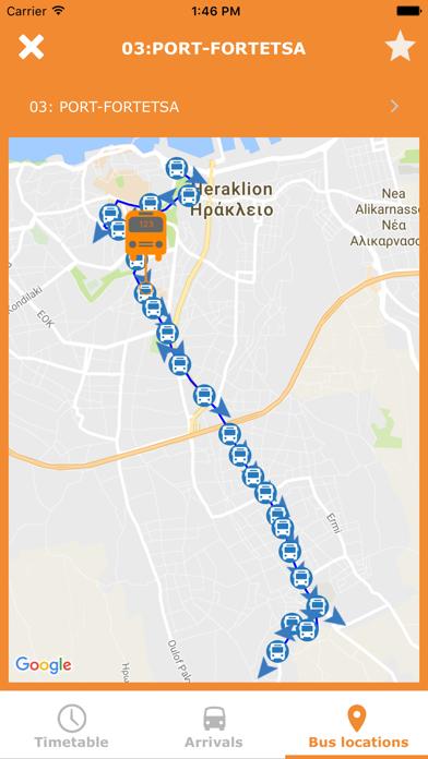 Iraklio City Bus screenshot four