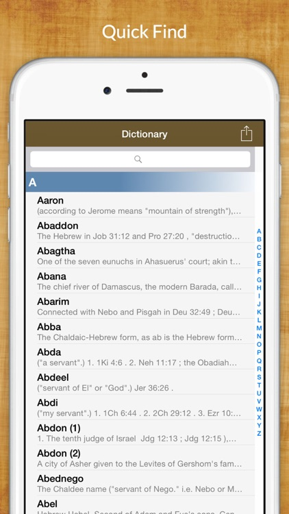 Every Dictionary - Bible Study