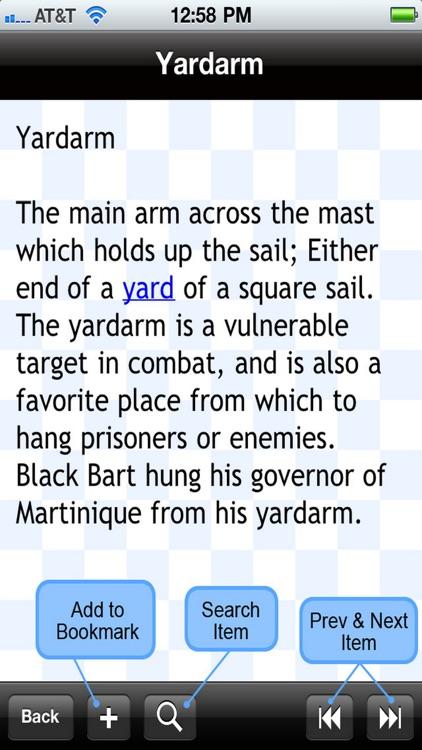 Pirate Glossary Plus+ screenshot-3