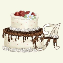 3D Cake Name Stickers Pack For iMessage