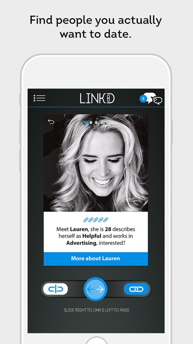LINKD – Find people in London & Discover date ideas screenshot one