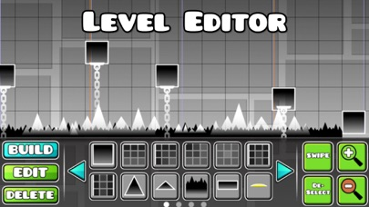 Screenshot of Geometry Dash App