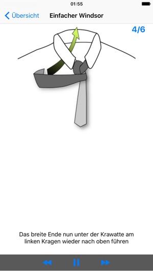vTie Krawatte binden für Hochzeit Bewerbung Business Konzert
