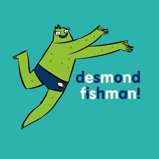 Desmond Fishman Stickers