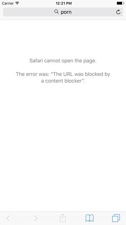 Porn Blocker Plus - Block Adult Content in Safari