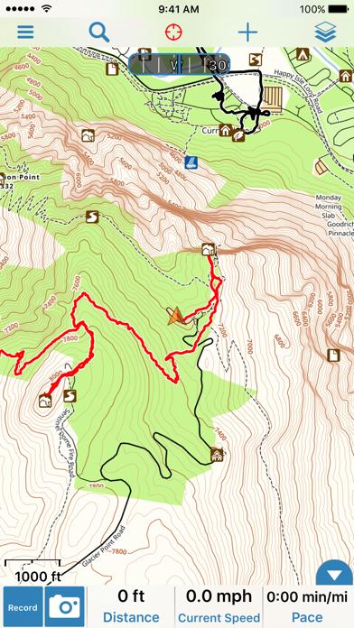 Gaia GPS Classic Screenshot