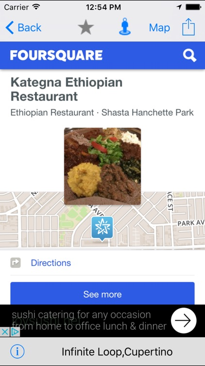 Nearby Food - Restaurant Finder Lite screenshot-2