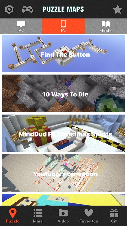 Puzzle Maps for Minecraft PE - Game Map Database