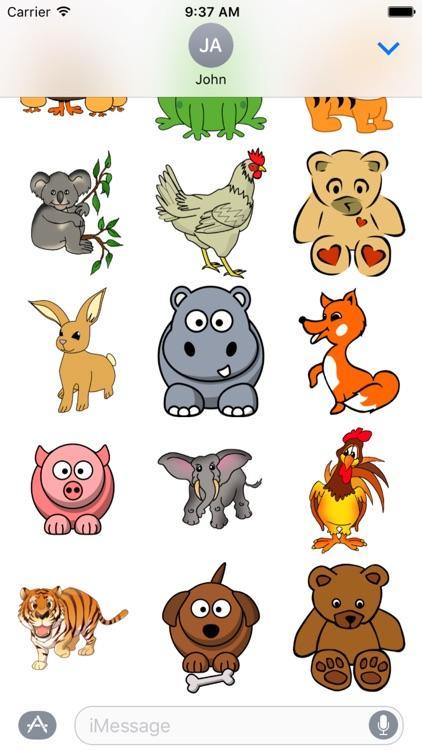 Animals Sticker Pack