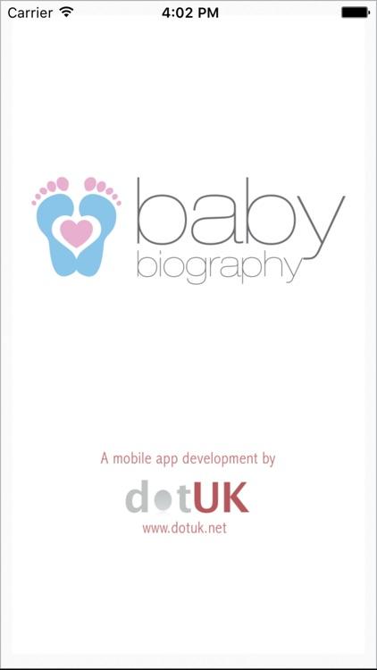 Baby Biography screenshot-4