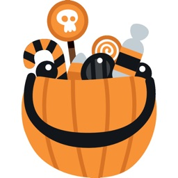 Halloween Costume Stickers - Trick or Treat