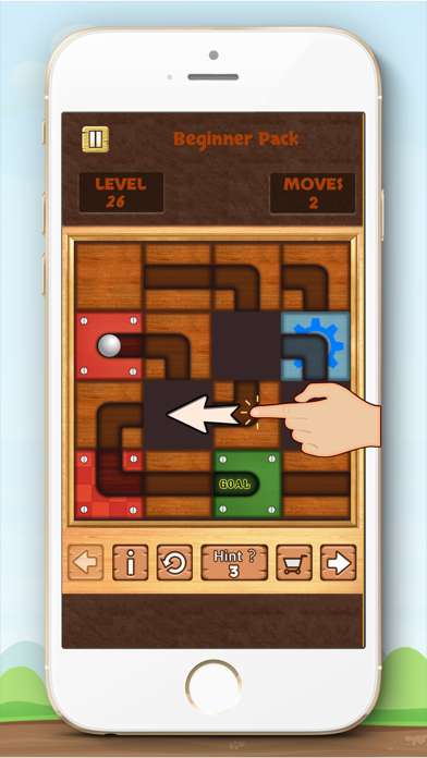 Unblock Ball Free - slide puzzle screenshot four
