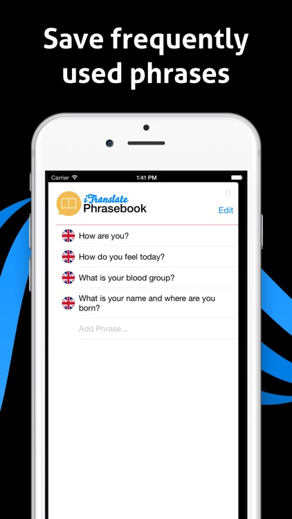 iTranslate Voice - Speak & Translate in Real Time app image