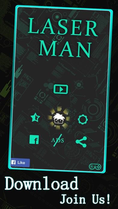 Laser Man : Running screenshot four