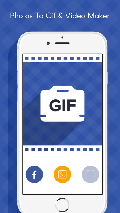 Photos to Gif maker- Social app photo to Gif Maker screenshot one