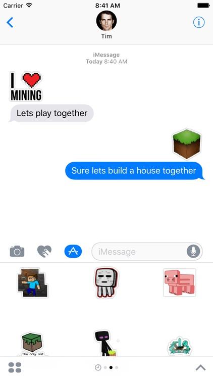 Craft Stickers for Minecraft Fans