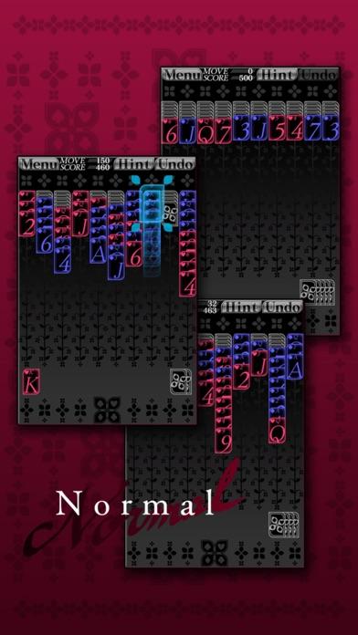 スパイダーソリティア (トランプ) ScreenShot3