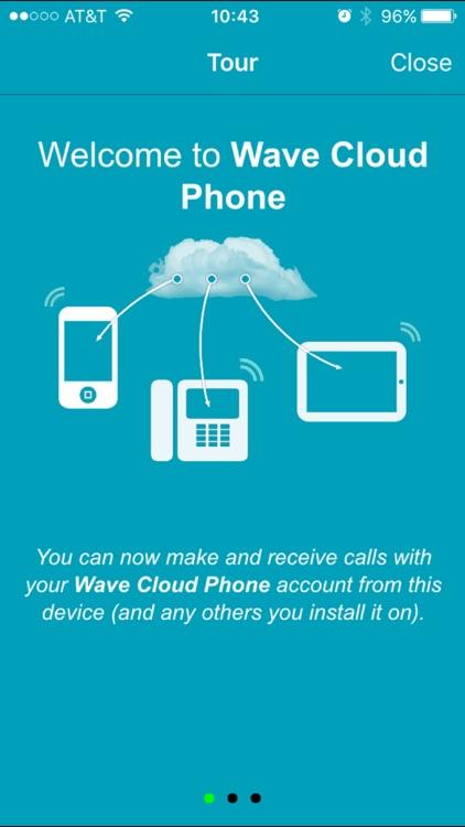 Wave Cloud Phone