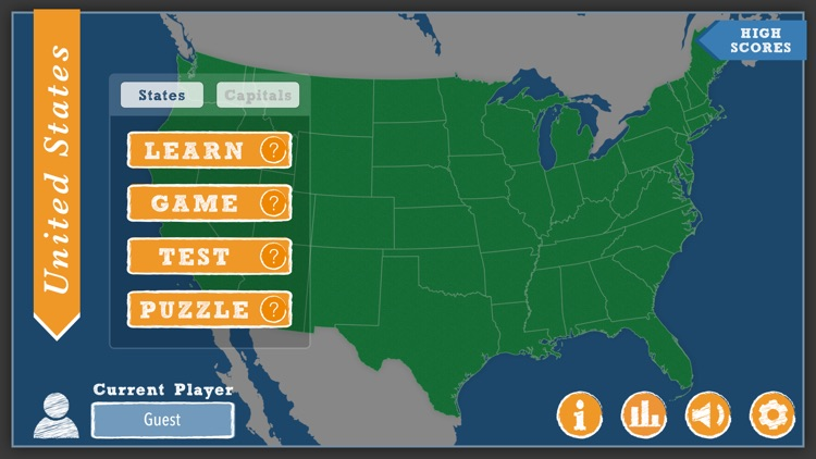 iLearn: US States screenshot-0