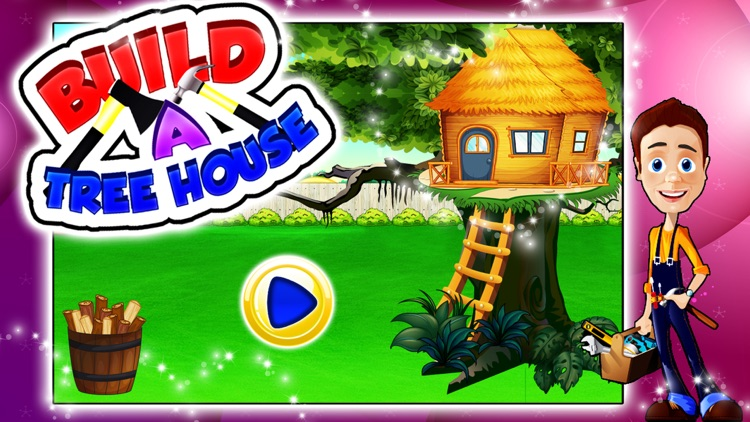 Build a Tree House – Create & design home for kids