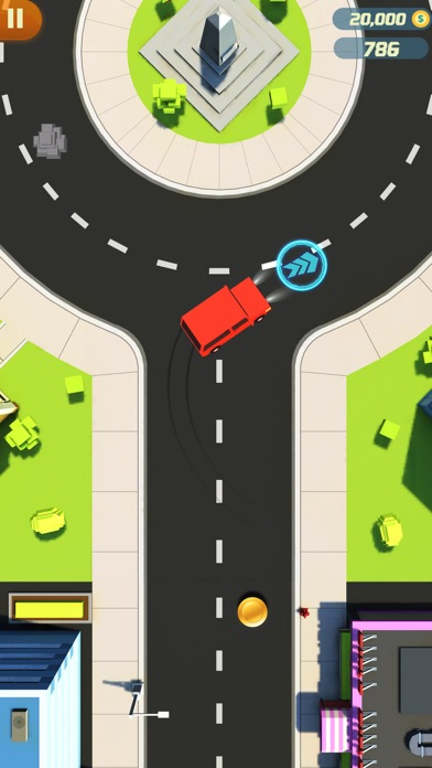 Finger Car Driver Dash screenshot two