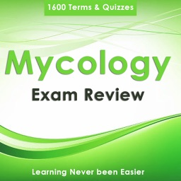 Mycology Exam Review & Test Bank App : 1600 Practice Quiz, flashcards, Concepts & Study Notes