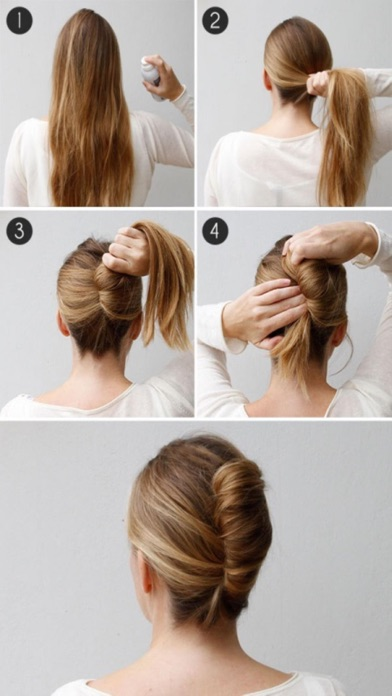Homemade Hairstyles Step by Step - Great ideas screenshot three