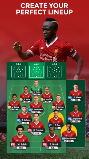 98e2305e7fb0 LIVERPOOL FC FANTASY MANAGER18 on the App Store