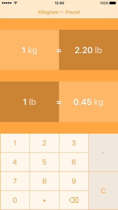 ... Screenshot #3 for Kilograms To Pounds | Kilogram To Pound |kg to lbs ...