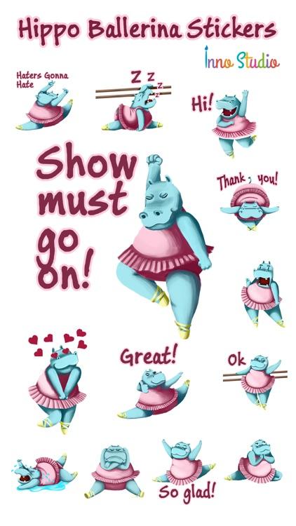 Hippo Ballerina by Inno Studio