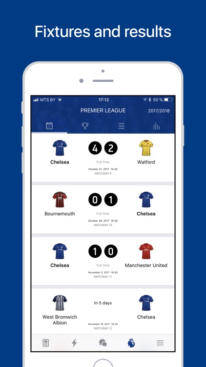 Chelsea Live – Goals & News. screenshot-4