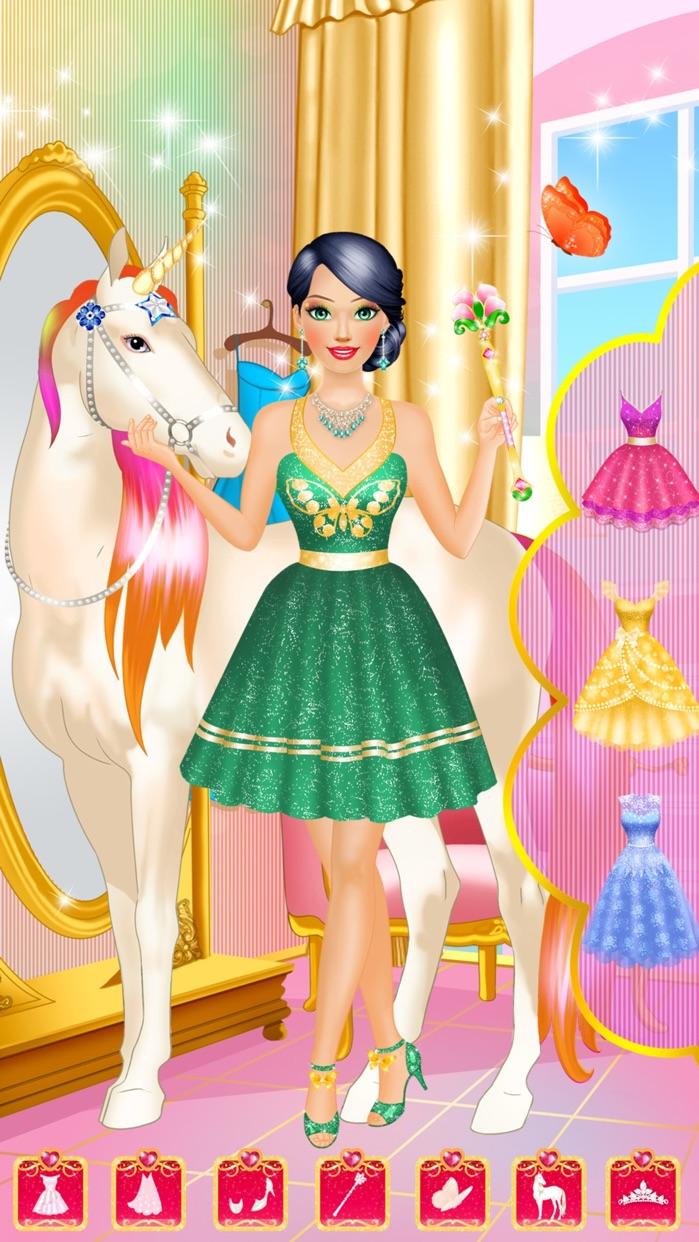 Magic Princess - Makeup & Dress Up Makeover Games Screenshot