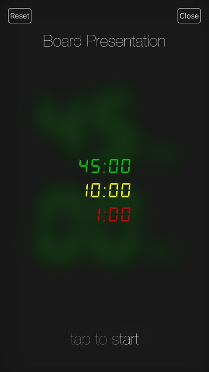 Presentation Clock screenshot-1
