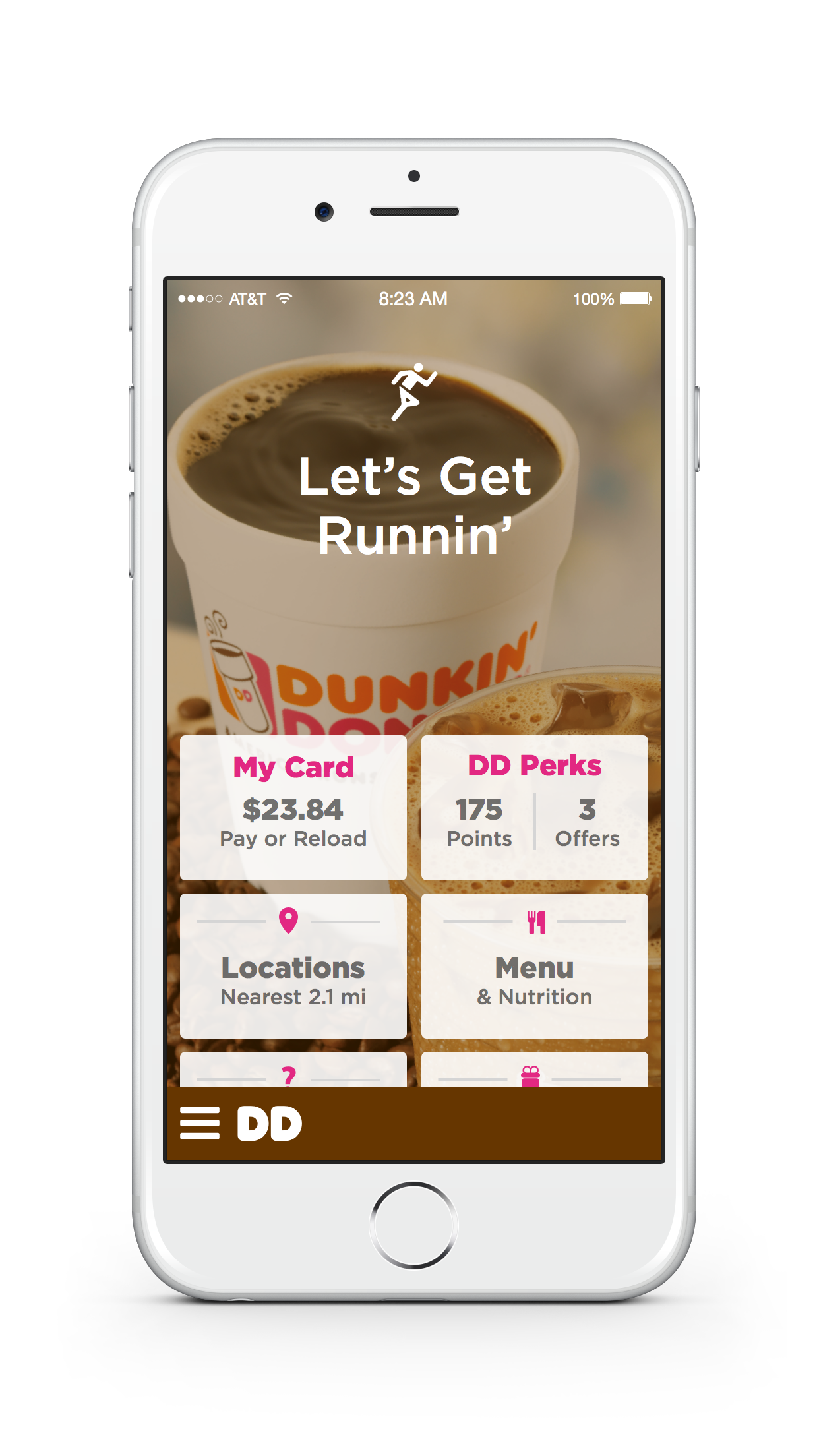 Dunkin' Donuts - Offers Screenshot