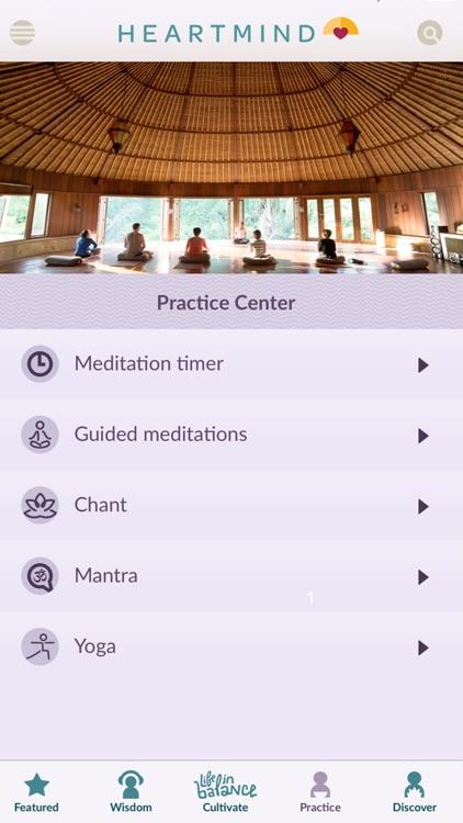 HeartMind - Free Podcast & Meditation App