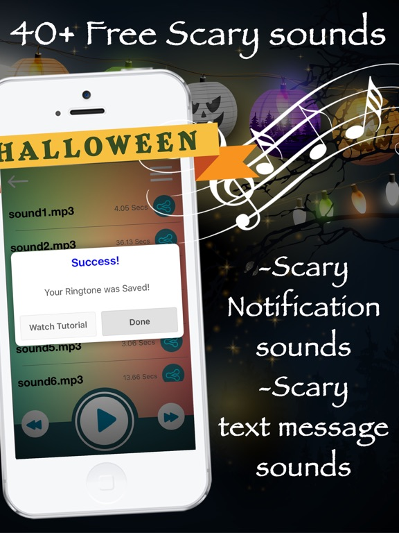 Halloween Ringtones & Scary Horror Tones Free | App Price Drops