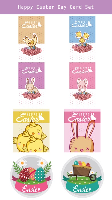 Happy Easter Day Stickers screenshot 4