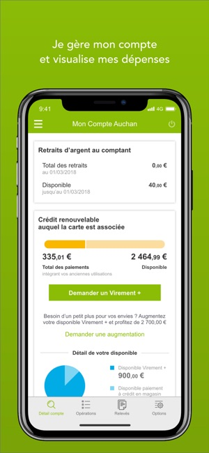 Mes comptes on the app store - Mon compte oney ...