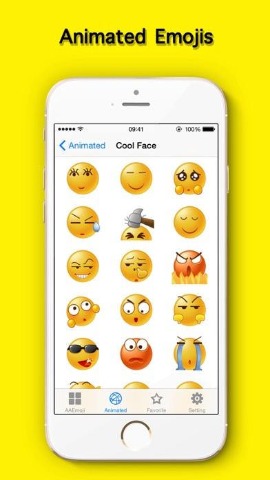 AA Emoji Keyboard - Animated Smiley Me Adult Icons-2