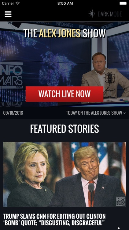Infowars LIVE screenshot-0