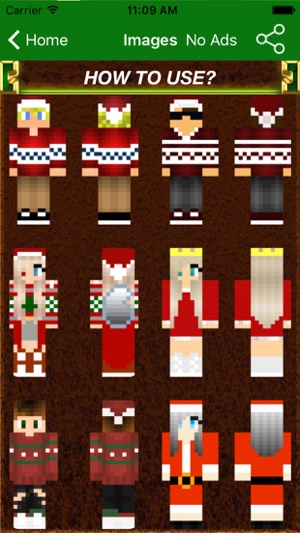 New Best Christmas Skins PRO For Minecraft PE PC On The App Store - Skins para minecraft no pc