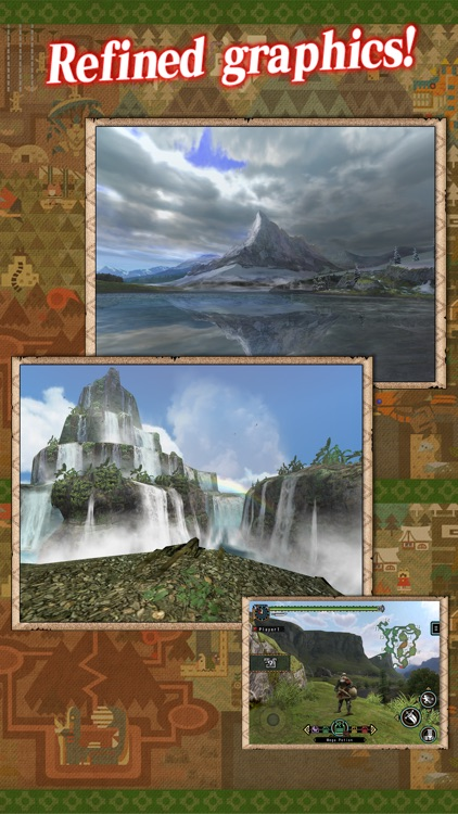MONSTER HUNTER FREEDOM UNITE for iOS screenshot-3