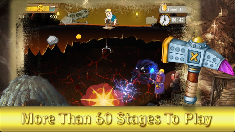 Classic gold miner free - The gold digging game HD screenshot-4