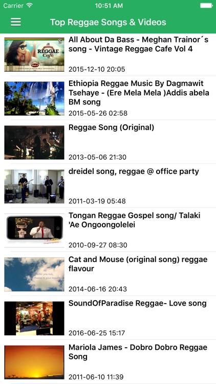 Reggae Music Pro - Top Reggae Songs, Dancehall & Jamaican Music screenshot-3