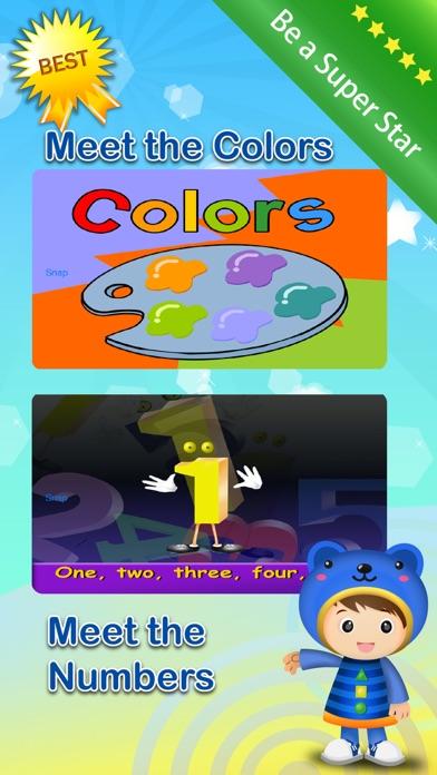Baby ABC Numbers Math Nursery Rhymes Video Songs screenshot three
