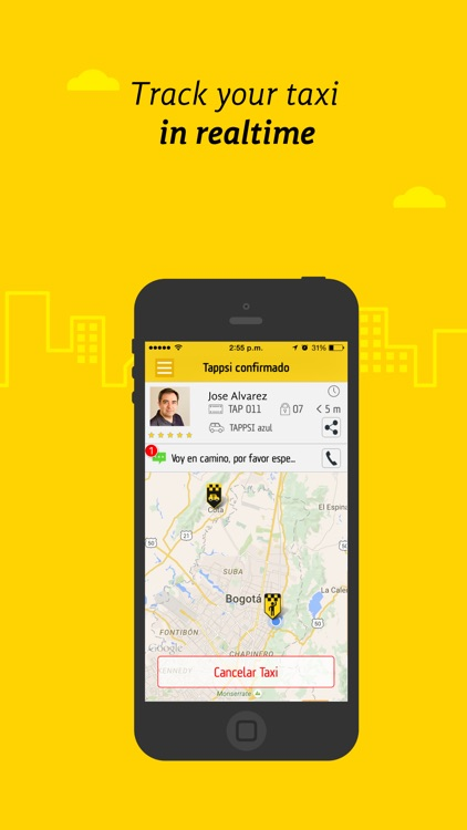 Tappsi - Safe Taxis screenshot-1