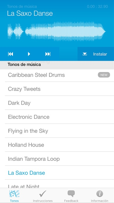 Screenshot for Tonos de Llamada para iPhone in Chile App Store