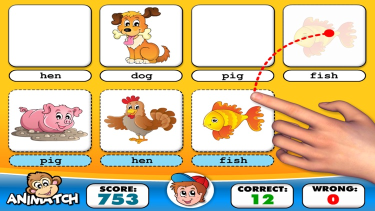 Alphabet Learning ABC Puzzle Game for Kids EduAbby screenshot-3
