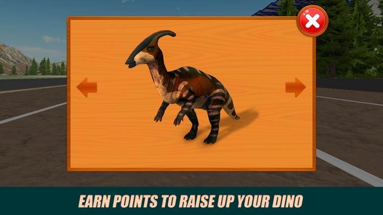 Jurassic Dino Racing Challenge 3D screenshot-3
