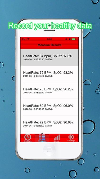 Heart Rate & Pulse Oximeter screenshot-3